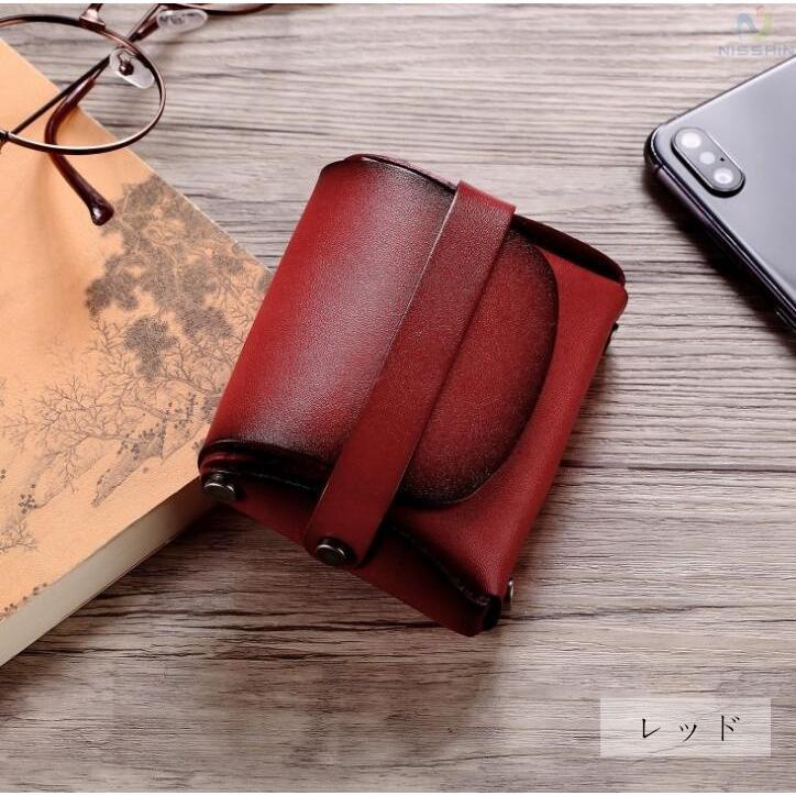 コインケース 小銭入れ メンズ レディース 本革 牛革 カード入れ カードケース コンパクト 長持ち 収納ケース|8787-store|06