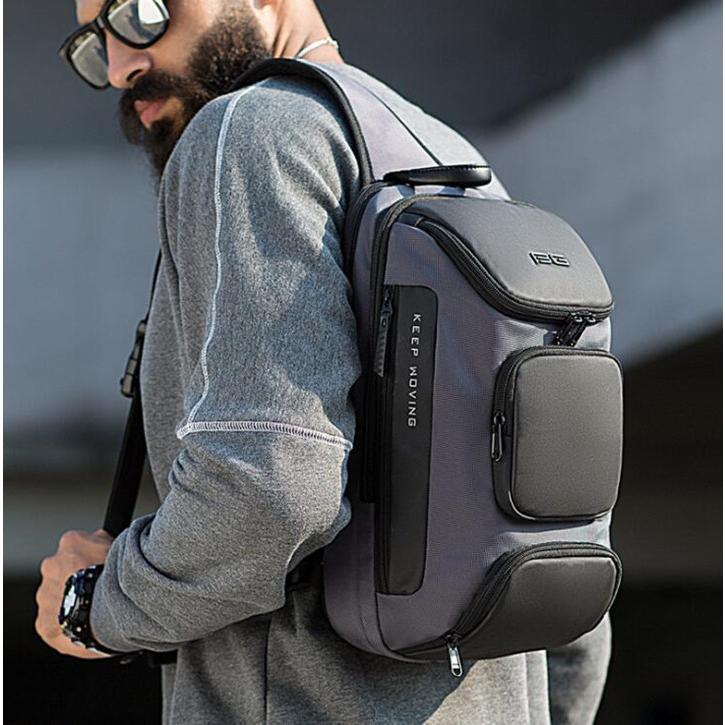 ボディバッグ 大容量 ショルダーバック USB シンプル メンズ 鞄 かばん ボディーバッグ ワン ショルダーバッグ 通勤 旅行 社会人 学生 高校生|8787-store|13