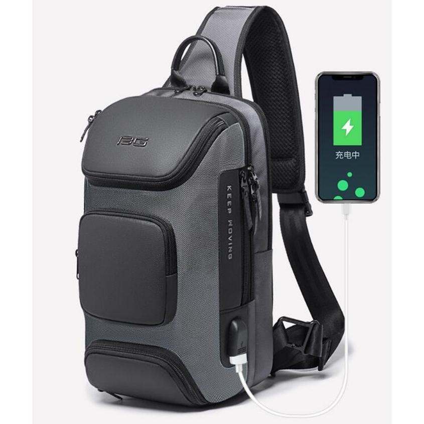 ボディバッグ 大容量 ショルダーバック USB シンプル メンズ 鞄 かばん ボディーバッグ ワン ショルダーバッグ 通勤 旅行 社会人 学生 高校生|8787-store|06