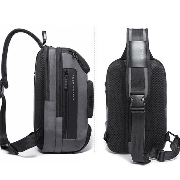ボディバッグ 大容量 ショルダーバック USB シンプル メンズ 鞄 かばん ボディーバッグ ワン ショルダーバッグ 通勤 旅行 社会人 学生 高校生|8787-store|10