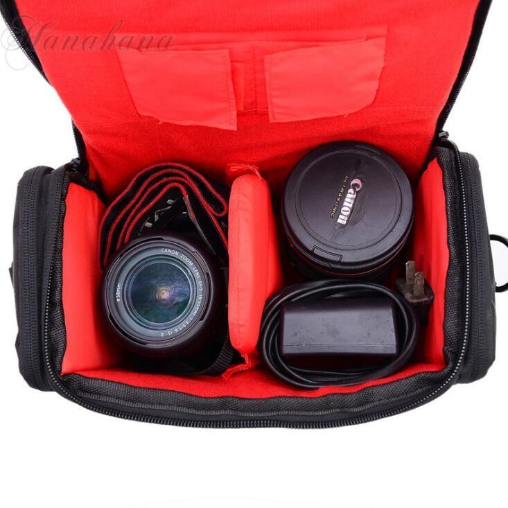 カメラバッグ カメラケース ショルダーバッグ 一眼レフ 肩掛け 容量 撮影用 カメラマン アウトドア プロ用 撥水 耐摩 レンズ収納|8787-store|03