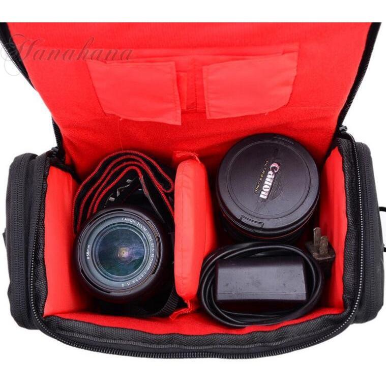 カメラバッグ カメラケース ショルダーバッグ 一眼レフ 肩掛け 容量 撮影用 カメラマン アウトドア プロ用 撥水 耐摩 レンズ収納|8787-store|10