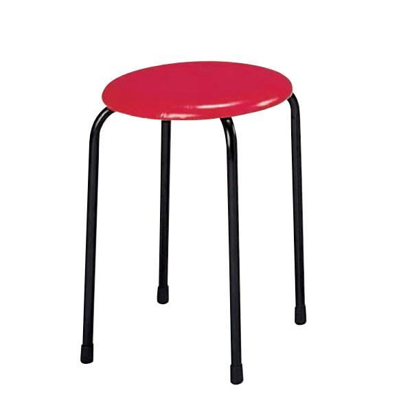 丸椅子 パイプ スツール 10脚セット S-20A S-20A