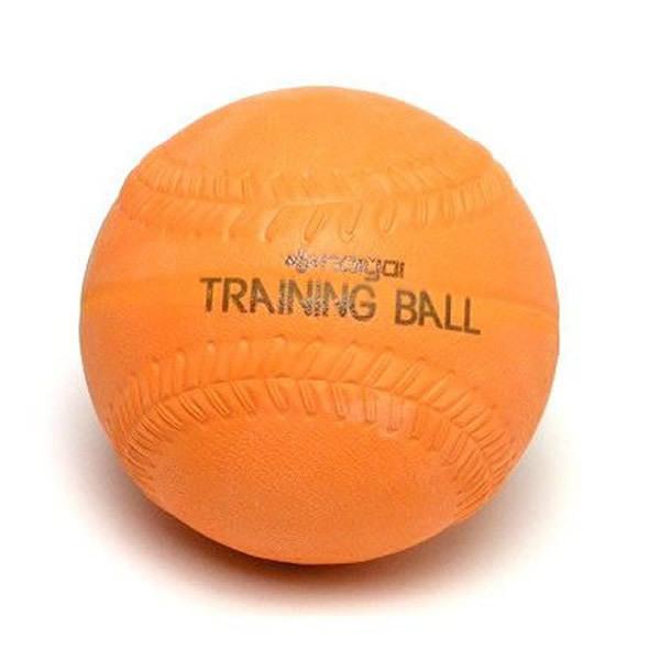 期間限定特別価格 ソフトボール用品 宅配便送料無料 ナイガイトレーニングソフトボール 1球 オレンジ 300g