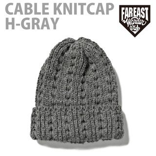 FEW-14AW-0707 CABLE KNITCAP H-GRAY