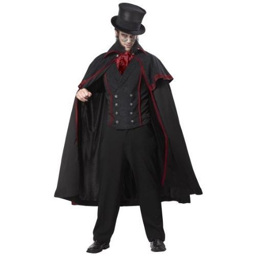 切り裂きジャック コスチューム ハロウィン コスプレ 男性 衣装 大人 吸血鬼 ドラキュラ ヴァンパイア マジシャン 魔法使い並行輸入品