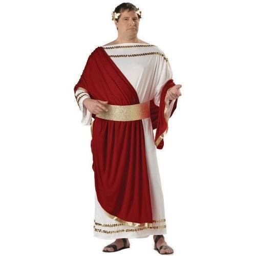 Caesar Plus Costume Caesar Plus Costume シーザー大人用プラスコスチューム♪ハロウィン♪サイズ:Plus (48