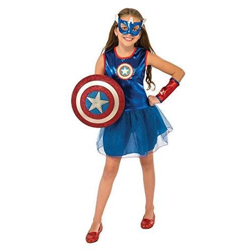 UHC Girl 's American Dream Tutuドレス衣装幼児用子ハロウィンコスチューム Child M (8-10) ブルー 7247