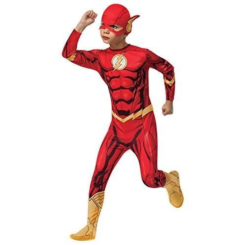 UHC Boy 's Flash Superhero Outfit Funnyテーマファンシードレス子ハロウィンコスチューム Child M (8-1