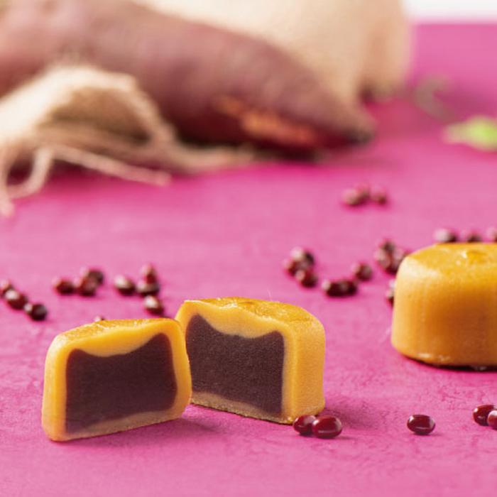 わかさいも 北海道 和風スイートポテト あんぽてと 6個 すいーとぽてと 餡 北海道お土産 出色 商店 さつまいも