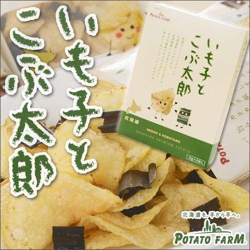 【POTATO FARM -カルビー ポテトファーム-】 いも子とこぶ太郎 6袋入り