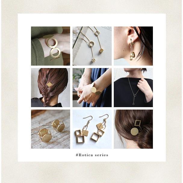 ヘアスティック かんざし  『ロチカ ホール サークル ヘアスティック』簪 一本 シンプル 普段使い ゴールド 和装 留め袖 和 ヘアピン アクセサリー 真鍮 日本製|a-depeche|10