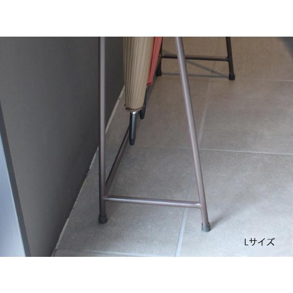 アイアン アンブレラ スタンド (L) IRON UMBRELLA STAND (L)アイアンの無骨な風合いとシンプルな形が小粋な傘を掛けるタイプの傘立て a-depeche 03