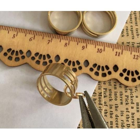 手芸用 やっとこ 3点 セット 丸ペンチ 平やっとこ ニッパー 女性用 ハンドメイド ・指かン付き|a-kindo|13