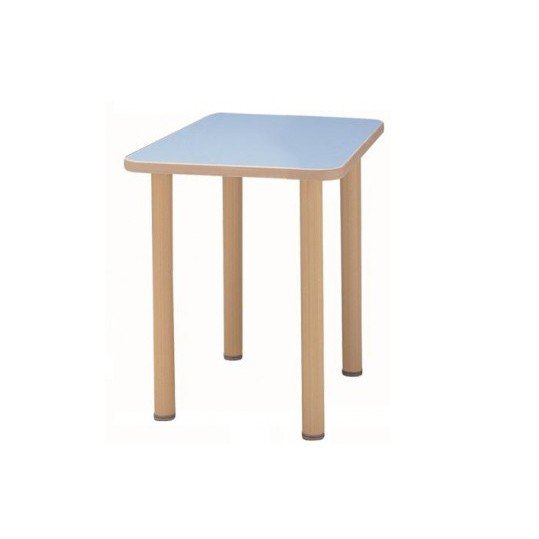 サンケイ 長方形テーブル(H700〜750mm) TCA090-ZW 代引き不可