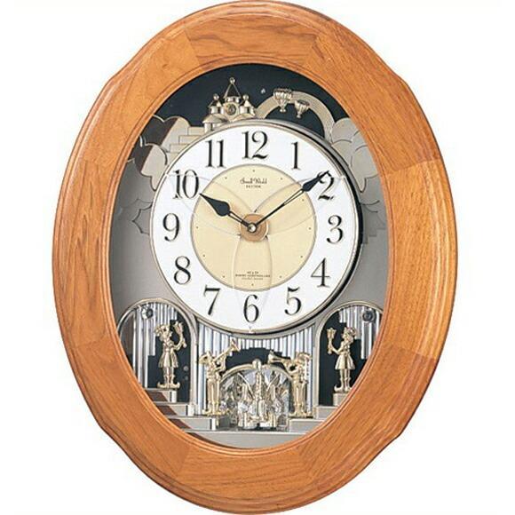 シチズン 掛け時計 アナログ スモールワールド ソルシアF 4MN422RB06