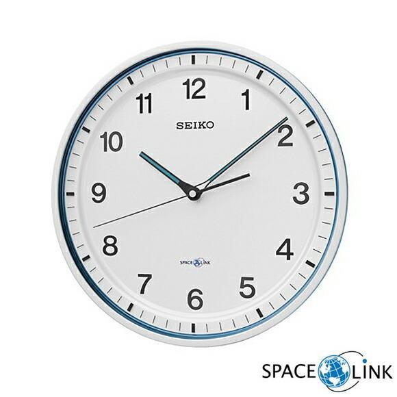 SEIKO セイコー 掛け時計 衛星電波時計 スペースリンク GP203W SKGP203W