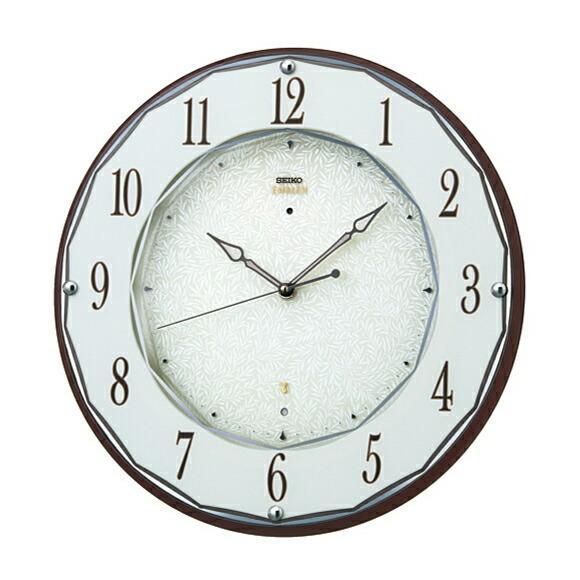 セイコー SEIKO EMBLEM 掛け時計 電波時計 HS524B