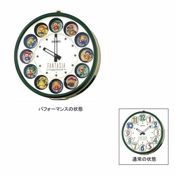 掛け時計 セイコー SEIKO からくり時計 RE540M