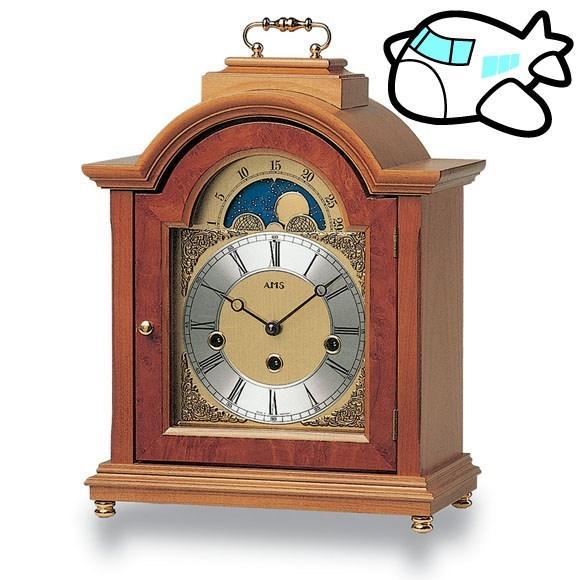 AMS 置き時計 置時計 アナログ 機械式 ドイツ製 AMS2195-9 30%OFF 納期1ヶ月程度 (YM-AMS2195-9)