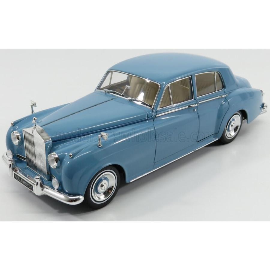 1:18 Minichamps Rolls Royce Silver Cloud II 1960 BLUE NEW in Premium-MODELCARS
