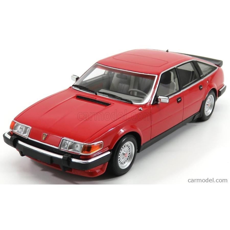 ローバー ヴィテス ミニカー 1/18 ミニチャンプス MINICHAMPS ROVER VITESSE 3.5 V8 1986 赤 107138401