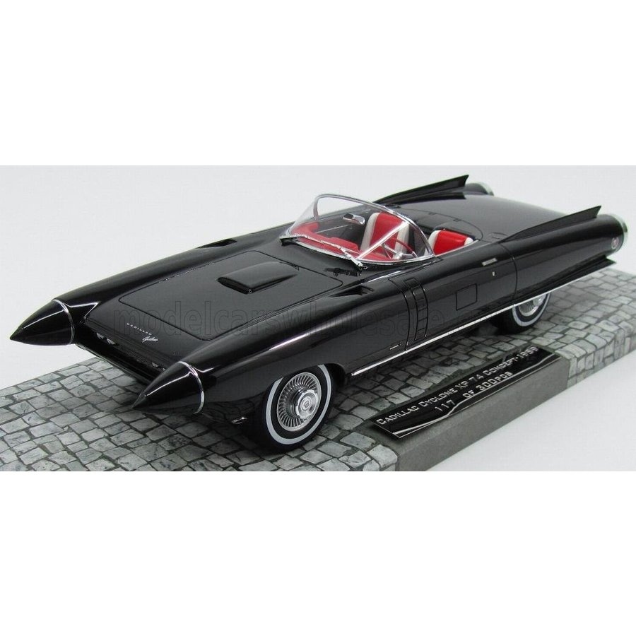キャデラック サイクロン コンセプト 1959 ミニカー 1/18 MINICHAMPS CADILLAC CYCLONE XP 74 CONCEPT OPEN 1959 黒 107148221