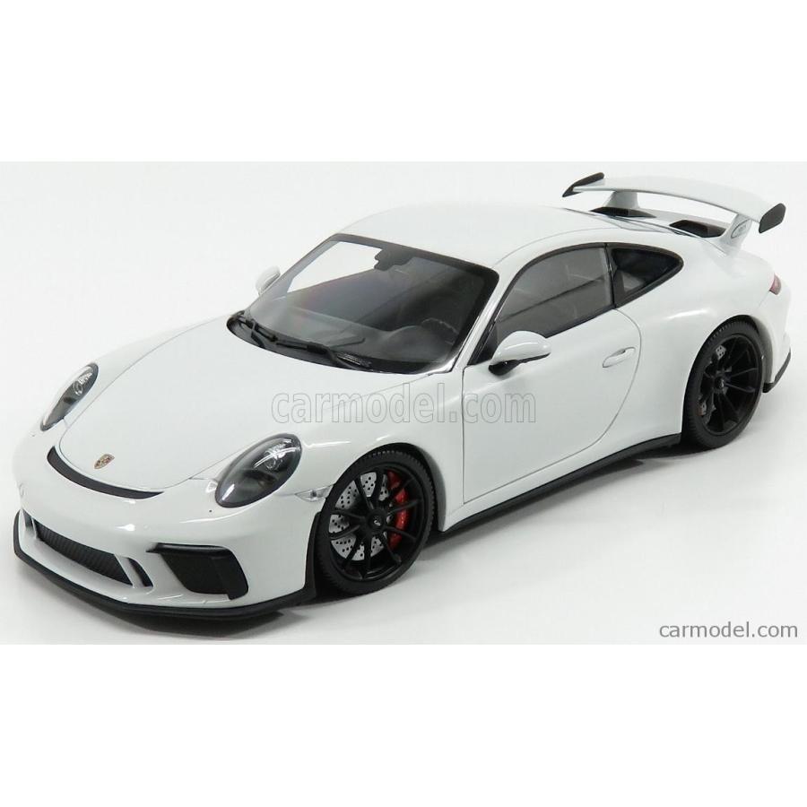 ミニカー 1/18 ポルシェ 911 991-2 GT3 MINICHAMPS PORSCHE 911 991-2 GT3 COUPE 2017 白い MET 110067032
