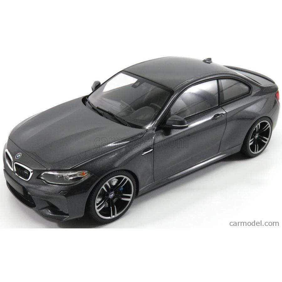 BMW 2シリーズ M2 ミニカー 1/18 ミニチャンプス MINICHAMPS BMW 2-SERIES M2 COUPE 2016 グレー MET 155026102