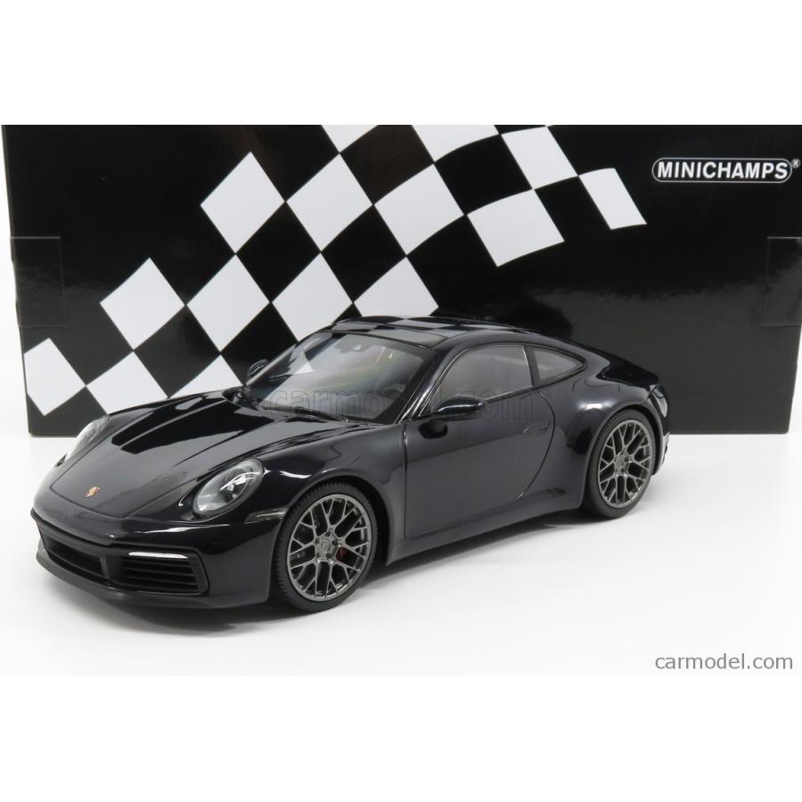 Carrera 4 S bleu met - Minichamps 1:18 155067321 992 Porsche 911