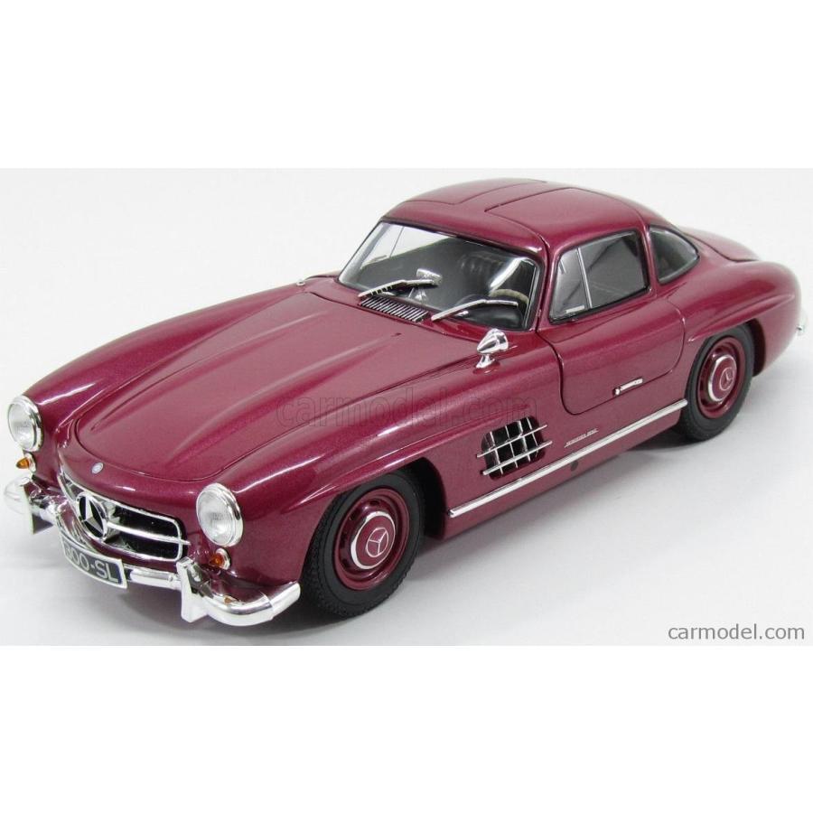 メルセデス ベンツ 300SL ミニカー 1/18 ミニチャンプス MINICHAMPS MERCEDES BENZ 300 SL GULLWING W198 1954 STRAWBERRY 赤 180039008