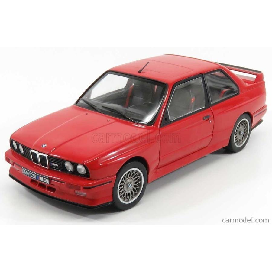 BMW 3シリーズ M3 ミニカー 1/18 SOLIDO BMW 3-SERIES M3 E30 1990 赤 1801502