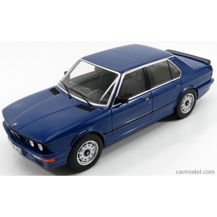 BMW 5シリーズ 535i ミニカー 1/18 ノレブ NOREV BMW 5-SERIES 535i M5 E12 1987 青 MET 183267