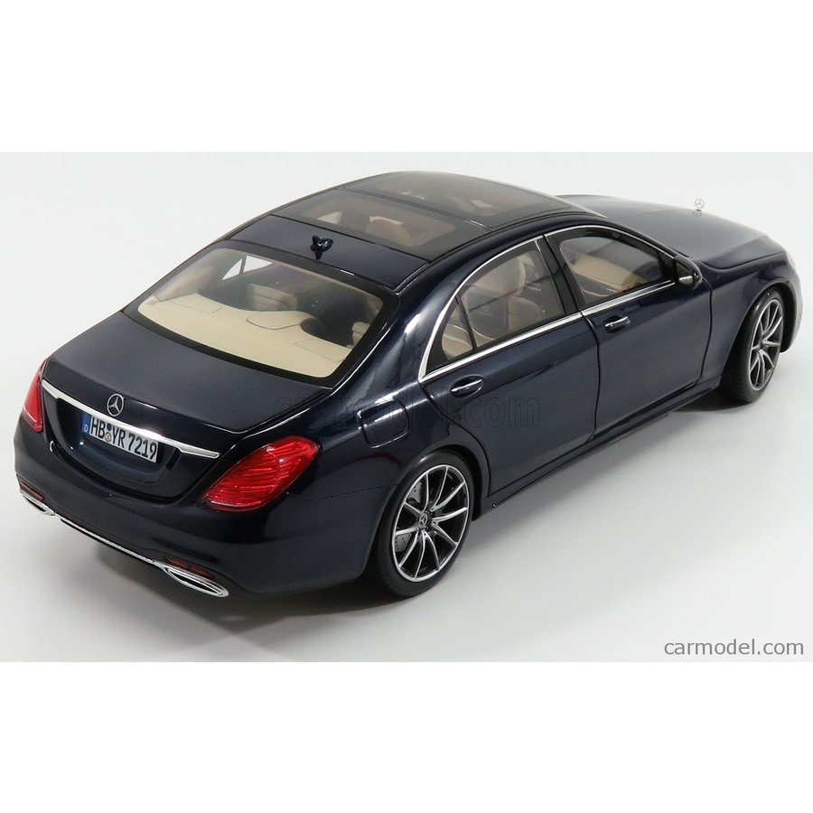 NOREV 183478 Mercedes Benz S Class AMG Line 2018 Dark Blue metallic 1//18