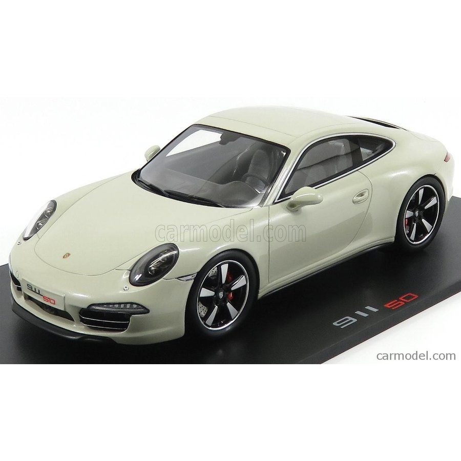 ポルシェ 911 991 ミニカー 1/18 SPARK-MODEL PORSCHE 911 991 EDITION 50th ANNIVERSARY EDITION 2013 GEYSER グレー 18SP065