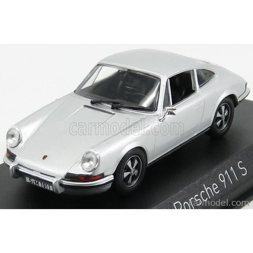 ポルシェ 911 S ミニカー 1/43 ノレブ NOREV PORSCHE 911 S 2.4 COUPE 1973 銀 750032