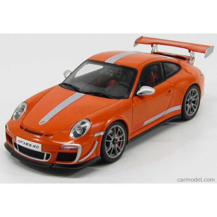 ミニカー 1/18 ポルシェ 911 997-2 オートアート AUTOART PORSCHE 911 997-2 GT3RS 3.8 COUPE 2011 オレンジ 78148