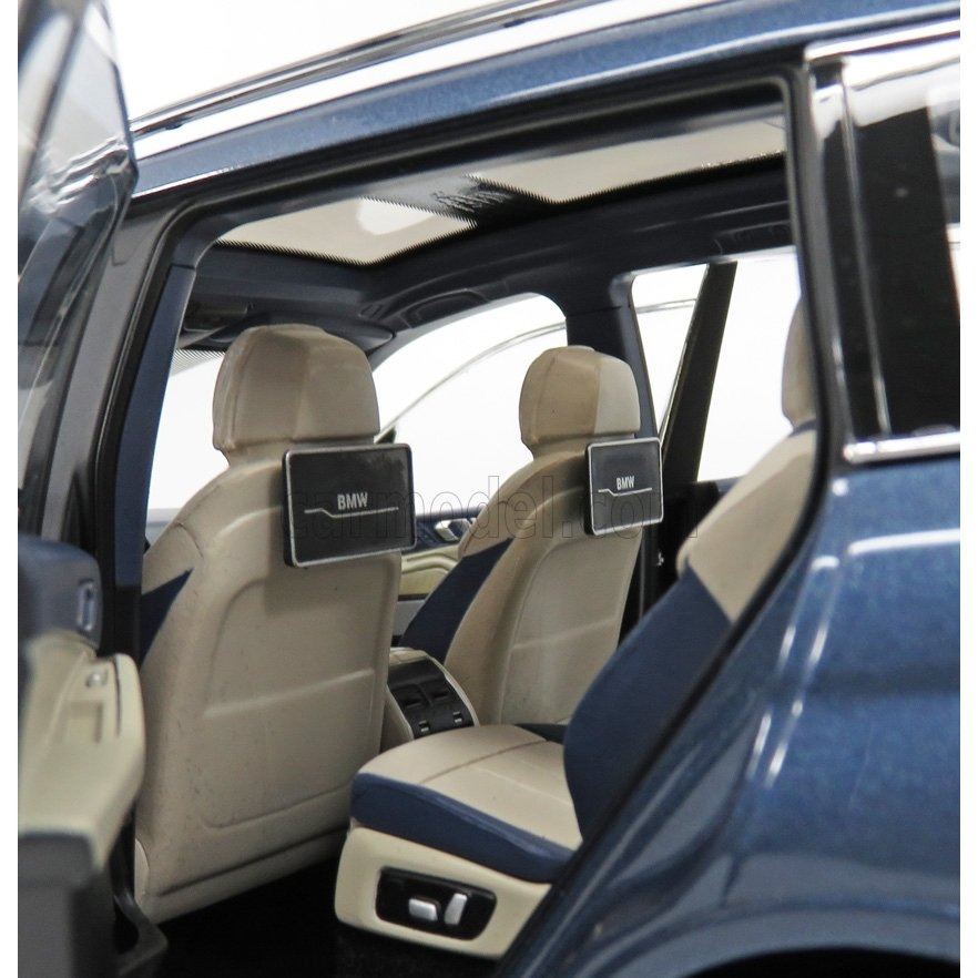 NEUF * 80432450997 NOREV 1:18 Model Car Phytonic Blue * BMW X7 G07 2018
