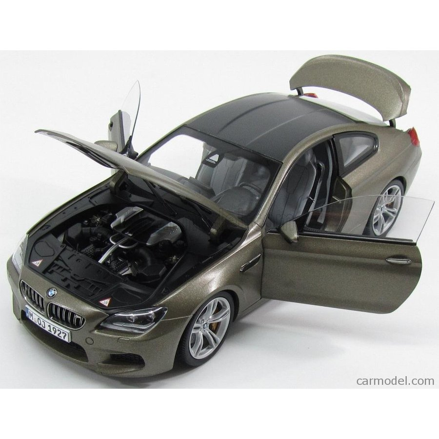 Paragon-models 97053 scala 1//18 bmw 6-series m6 f-13 coupe 2013 frozen bronze