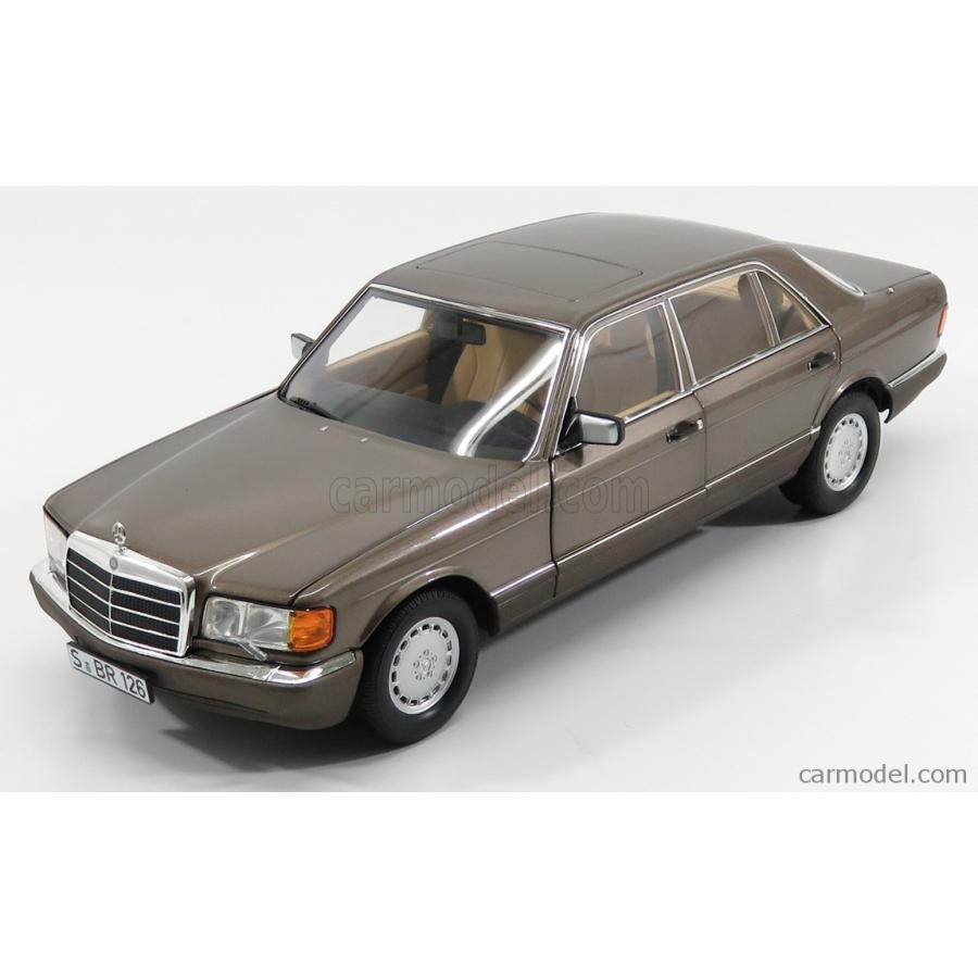 ミニカー 1/18 メルセデス ベンツ Sクラス 560SEL ノレブ NOREV MERCEDES BENZ S-CLASS 560SEL (W126) 1991 IMPALA 褐色 MET B66040646