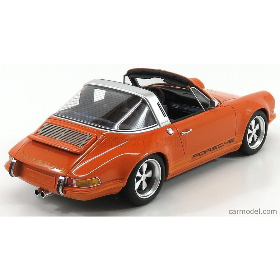 CML106-3 CULT MODELS Porsche 911 Targa Spider by Singer 1967 Orange 1//18