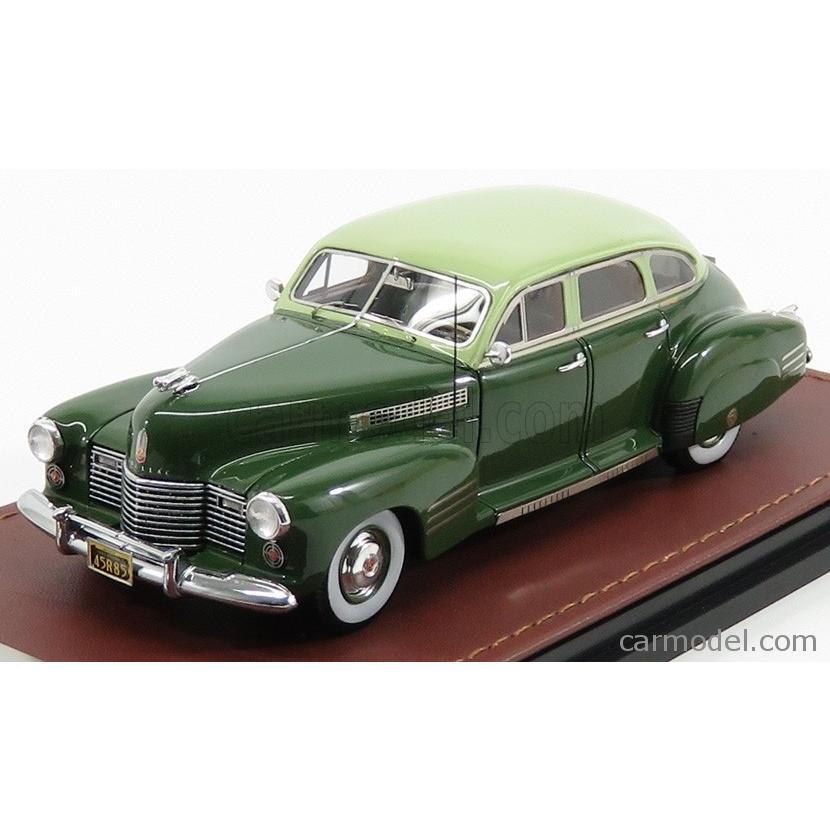 キャデラック シリーズ 62 クーペ ミニカー 1/43 GLM-MODELS CADILLAC SERIES 62 COUPE 1941 緑 GLM119902