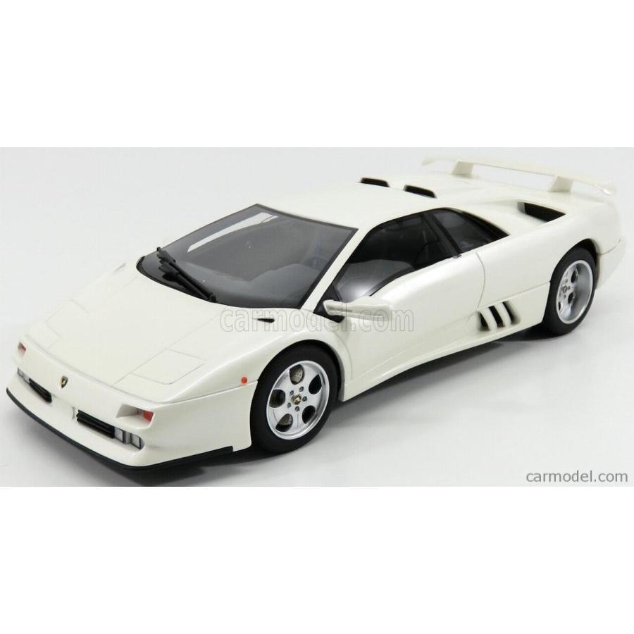 ランボルギーニ ディアブロ SE30 ミニカー 1/18 GT-SPIRIT LAMBORGHINI DIABLO SE30 JOTA 1994 白い MET GTS18501W