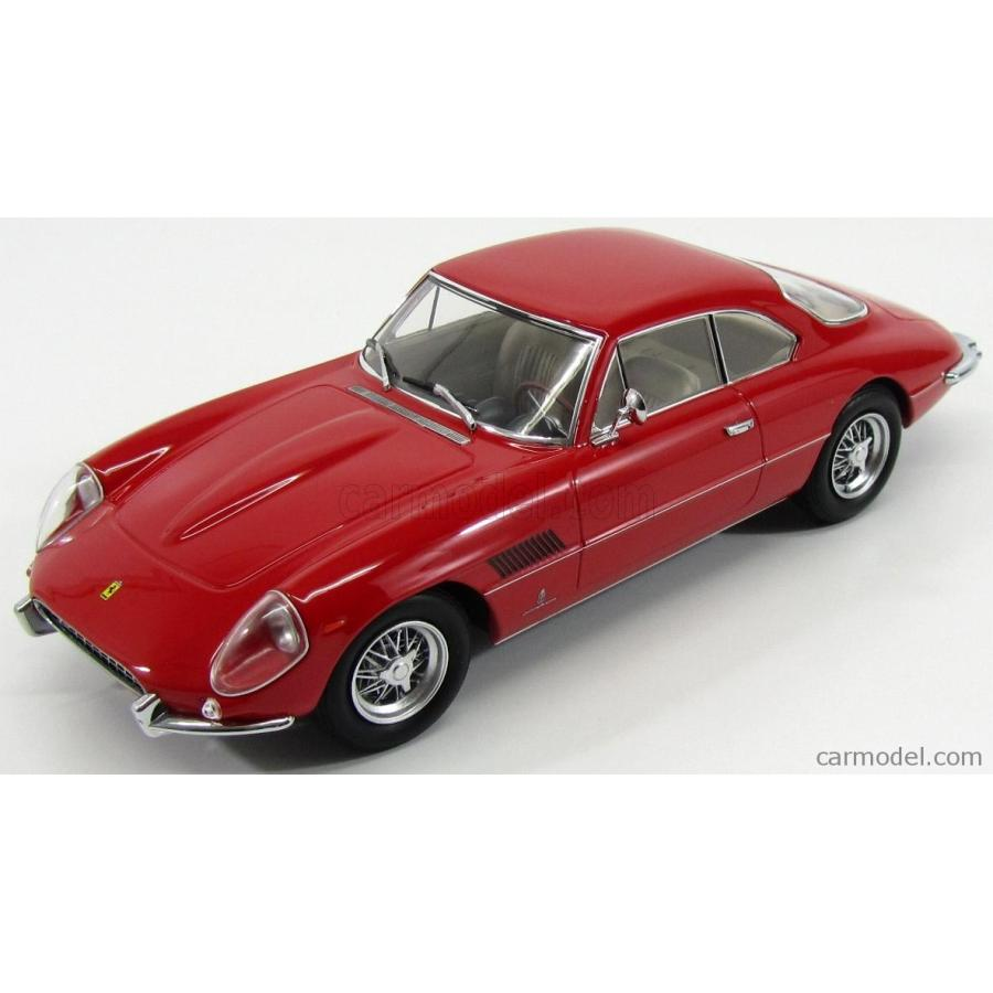 フェラーリ 400 スーパーアメリカ ミニカー 1/18 KK-SCALE FERRARI FERRARI 400 SUPERAMERICA 1962 赤 KKDC180061