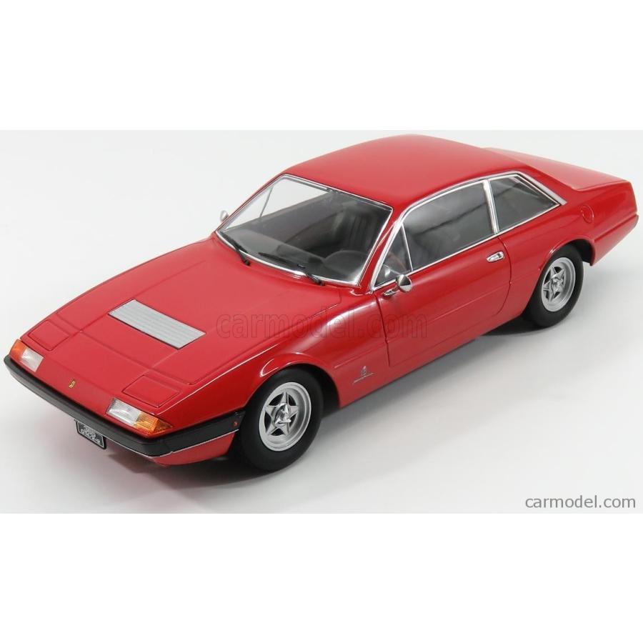 フェラーリ 365 GT4 ミニカー 1/18 KK-SCALE FERRARI 365 GT4 2+2 1972 赤 KKDC180161