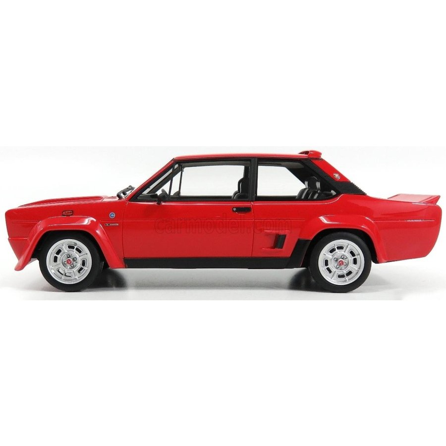 FIAT 131 Abarth Stradale 1976 Red LAUDORACING 1:18 LM109A