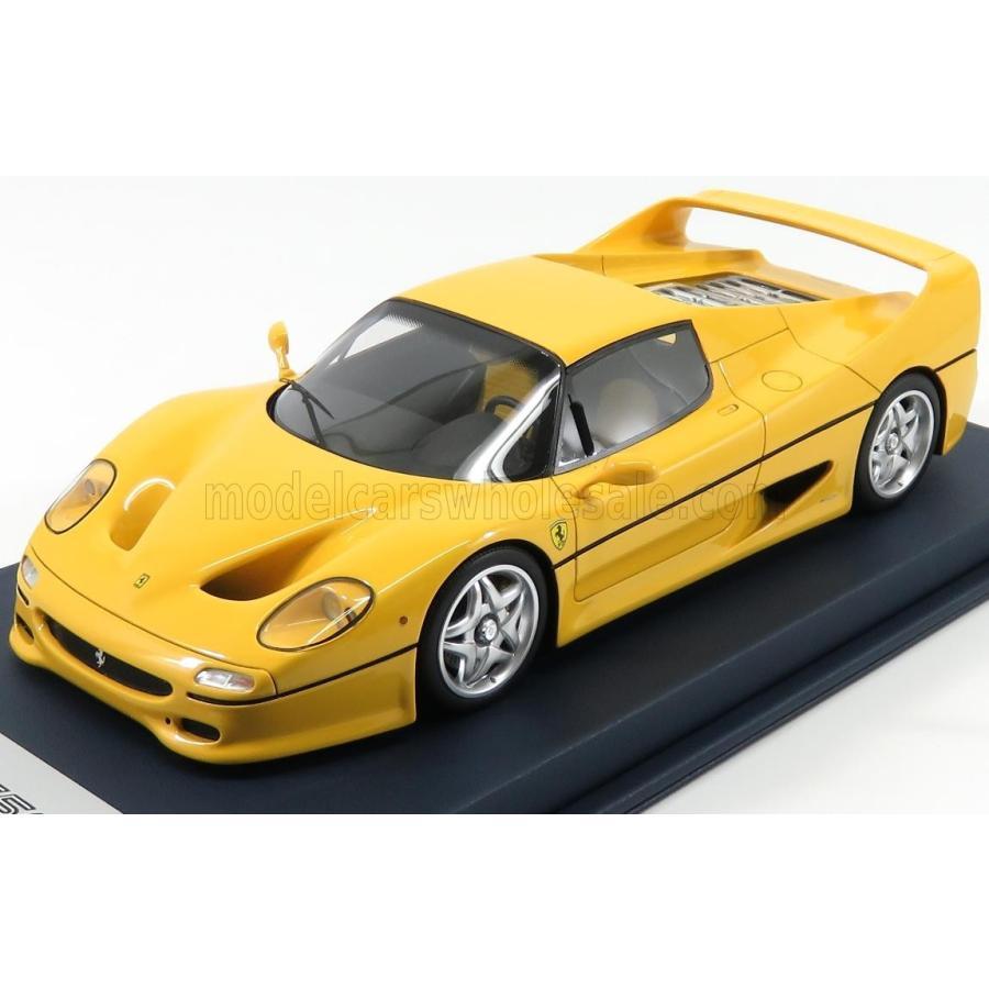フェラーリ F50 1995 ミニカー 1/18 LOOKSMART FERRARI F50 1995 WITH SHOWCASE 黄 LS18FC05B