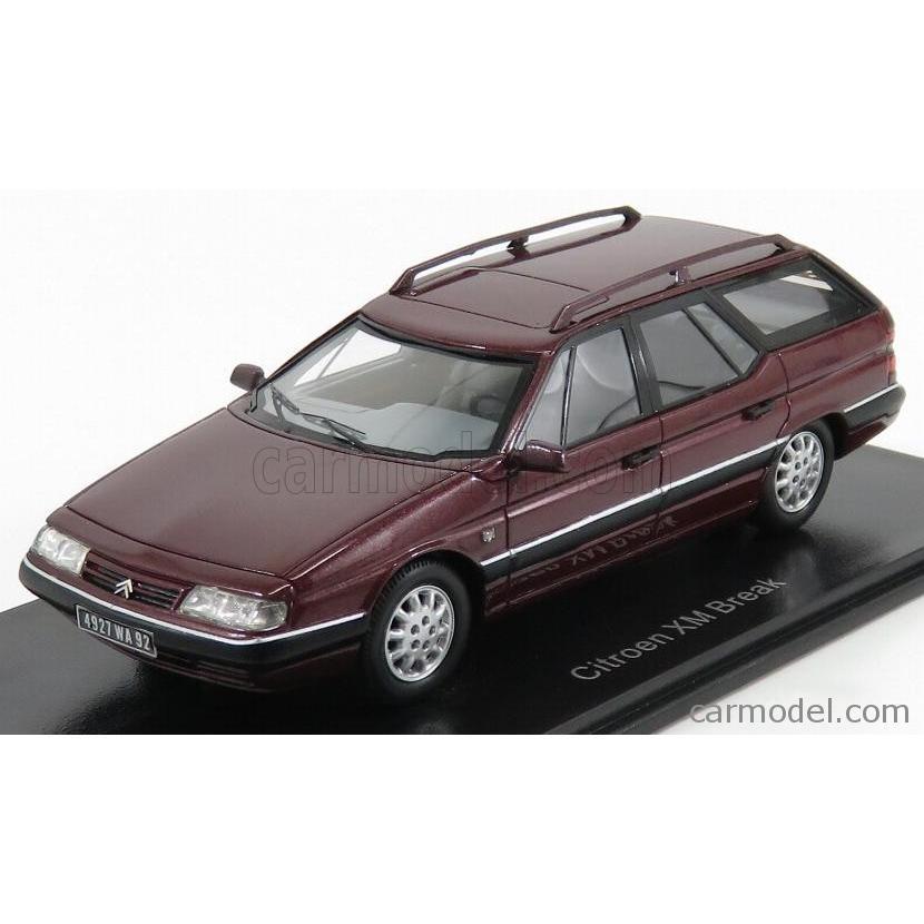 シトロエン XM ミニカー 1/43 NEO SCALE MODELS CITROEN XM BREAK 1989 BORDEAUX NEO44927