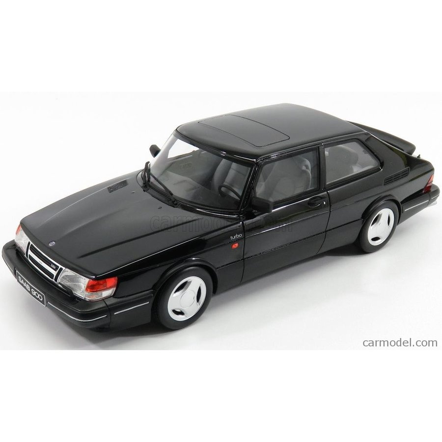 サーブ 900 ミニカー 1/18 OTTO-MOBILE SAAB 900 TURBO 1989 黒 OT678