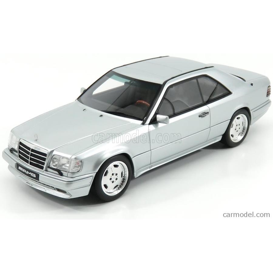 メルセデス ベンツ Eクラス E36 AMG ミニカー 1/18 OTTO-MOBILE MERCEDES BENZ E-CLASS E36 AMG C124 COUPE 1995 銀 OT731